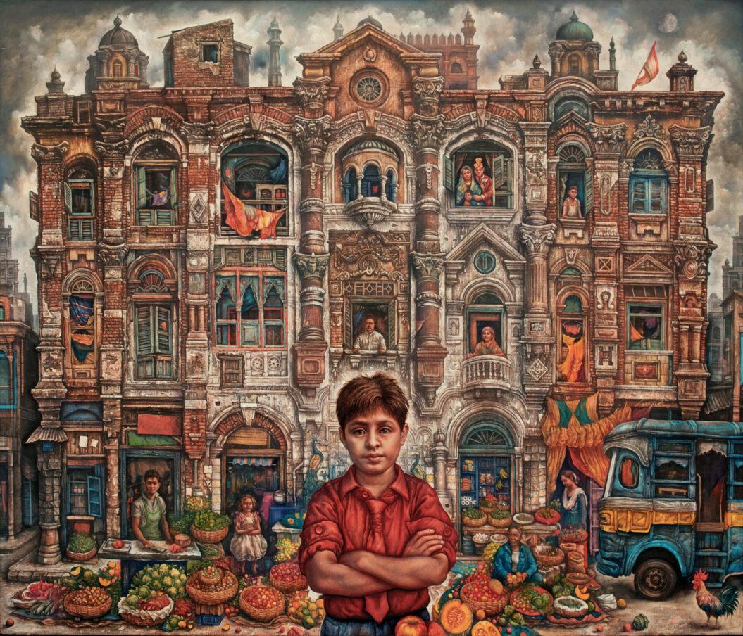 Boy and His Town- Kolkata India